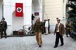 Nymburští filmaři točí hraný dokument o událostech v Nymburce z roku 1945.