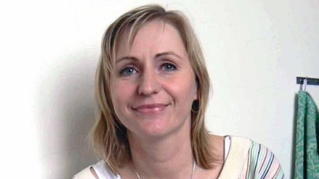 Učitelka Střední zdravotnické školy v Nymburce Monika Veselá.