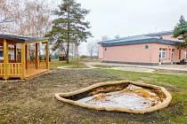 Nové prvky na zahradě Mateřské školky Větrník.