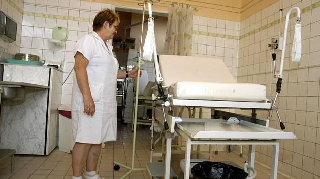 Nymburská porodnice po vymalování.