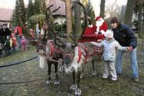 Kersko navštívil Santa Claus.