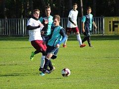 Dorostenecké okresní derby krajského přeboru vyhráli mladíci Ostré, doma porazili Poděbrady 2:0