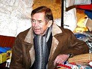 Václav Havel v Milovicích v roce 2002