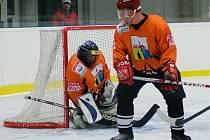 PŘEKVAPENÍ. Hokejisté Peček si v dalším pokračování Poděbradského poháru vyšlápli na mužstvo Pátku