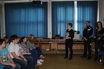 Žáci ZŠ Městec Králové besedovali na téma trestní odpovědnost