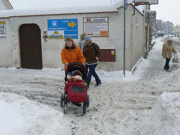 Zima v Nymburce, 2010