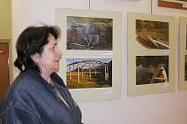 Výstava Černohorské obrazy v DDM Symfonie.