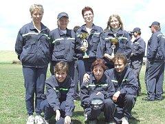 Sboru dobrovolných hasičů v Kounicích velí žena.