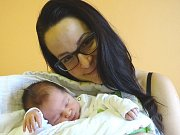 ALBERT SÁGNER se narodil 2. ledna 2018 v 8.20 s výškou 48 cm a váhou 3 340 g. S rodiči Vilémem a Markétou a sestrou Viktorkou (3) bydlí v Nymburce.