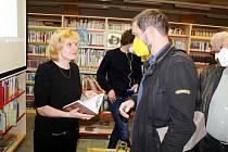 Z přednášky novinářky Petry Procházkové 'Kam kráčí Bělorusko' v nymburské knihovně.