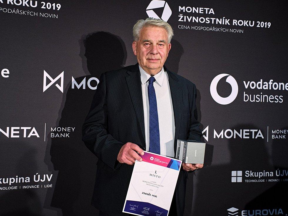 Zdeněk Moc byl pro letošek vyhlášen Živnostníkem Středočeského kraje.