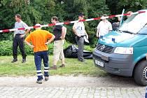 V úterý odpoledne byl v poděbradské Skupici nalezen mrtvý muž.