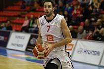 Z basketbalového utkání Kooperativa NBL Nymburk - Brno (103:63)