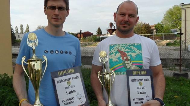 Zástupci nejlepších týmů Poděbradského poháru převzali ocenění