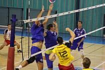 Z nymburského volejbalového turnaje Polabský pohár