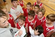 Basketbalový potěr Nymburka