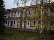 Bývalé Dětské oddělení v areálu nymburské nemocnice