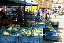 Farmářské trhy v Nymburce