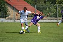Z přípravného fotbalového utkání Vykáň - Libice nad Cidlinou (5:1)