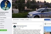 Facebooková stránka Městské policie Nymburk.