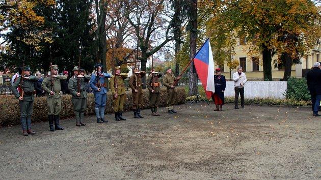 V Nymburce si připomněli Den veteránů pietním aktem