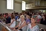 Slavnostní akt se konal v evangelickém kostele.