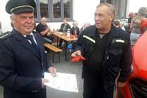 Nový vůz hronětických hasičů.