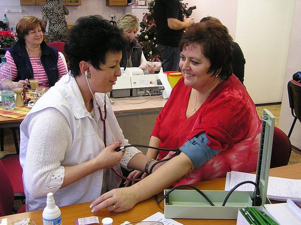 V Centru volného času se setkali lidé, kteří se už více než rok snaží žít zdravě.