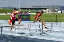 Nymburský Jakub Šantavý ve finiši