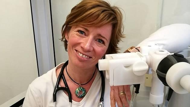 Šárka Klimešová, koordinátorka krizového štábu nymburské nemocnice a plicní lékařka.
