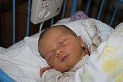 PÉŤA PŘEKVAPIL. PETR PRACH se narodil 31. ledna 2017. Bylo 13.58 hodin, když si klouček s mírami 3 400 g a 50 cm prvně prohlédl  maminku Nikolu a tátu Michala z Milovic.