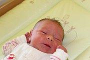 MÁJA Z BŘEŽAN. MARIE TUČKOVÁ se narodila Simoně a Tomášovi 28. května 2017 v 23.28 hodin. Miminku s mírami 3 240 g a 46 cm  vybrala jméno sestra Simonka (7), bráška Tomášek (2) nebyl proti.