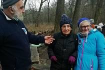 Nejstarší účastnicí pochodu byla devadesátiletá Hana Rakušanová.