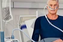Přístroj, který chtějí zakoupit pro pacienty nymburské nemocnice.