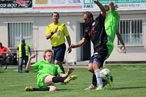 Z okresního fotbalového derby I.B třídy Libice nad Cidlinou - Lysá nad Labem (4:2)