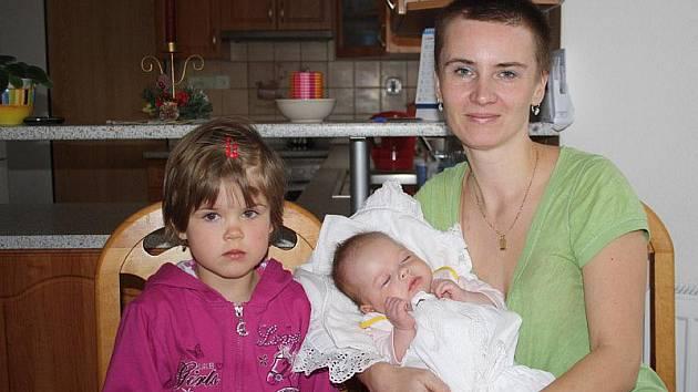 Jana Němcová s dcerkami Janou a Anetkou mají za sebou těžké chvíle