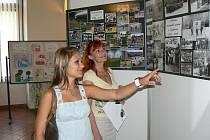 Výstava k jubileu profesionálních hasičů v Nymburce