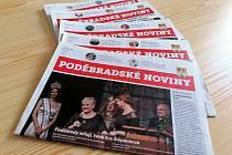 Poděbradské noviny vyjdou naposledy v červenci. Ilustrační foto.