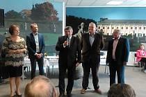 Slavnostní otevření komorního společenského sálu na Výstavišti v Lysé nad Labem.