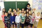 Základní škola T.G.M. Litol, třídní učitelka Ilona Elišková