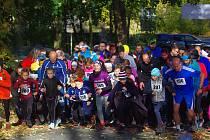 Z charitativního běhu pro domácí hospic Nablízku