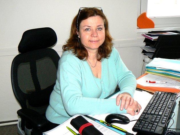 Ředitelka nemocnice Renáta Petrová