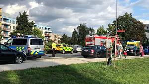 Vážná nehoda v Poděbradech 18.  září 2019