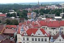 Město Nymburk.