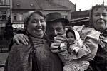 Masopust se vrací do Nymburka téměř po půl století. Dnes a příště si snímky připomeneme, jak to tehdy tento svátek v Nymburce vypadal.