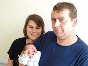PAVLÍNKA ŠTRYNKOVÁ se narodila 27. dubna 2018 v 8.43 hodin s délkou 48 cm a váhou 2 800 g. Na první holčičku už se  těšili rodiče Hana a František i bráchové František, Ondřej, Tomáš a Kryštof z Přerova nad Labem.
