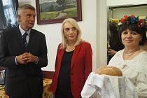 Diplomatka ze Srbska navštívila lázeňské Poděbrady.