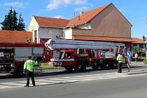 Hasiči zasahovali u požáru v kuchyni v restauraci v Sadské.