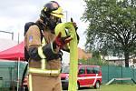Už posedmé se konalo v poděbradské čtvrti Velké Zboží klání o Železného hasiče.