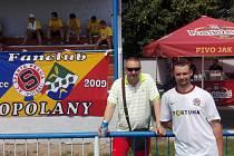 Z turnaje sparťanských fanoušků v malé kopané v Opolanech
